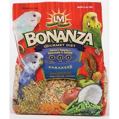 keet Diet Food Size: 2 lbs (Bonanza Parakeet Gourmet Diet)