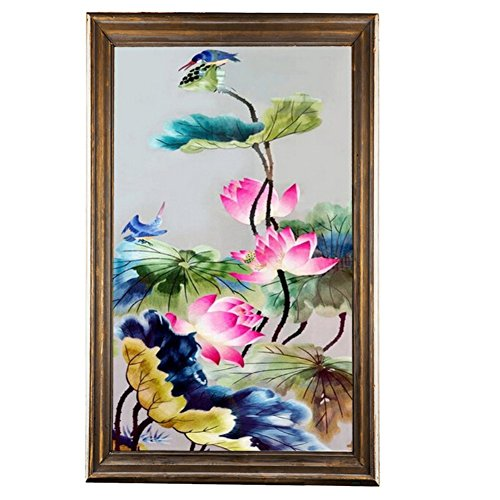 Adarl 5D DIY Diamond Painting Rhinestone Pictures Of Crystals Embroidery Kits Arts, Crafts & Sewing Cross Stitch Lotus