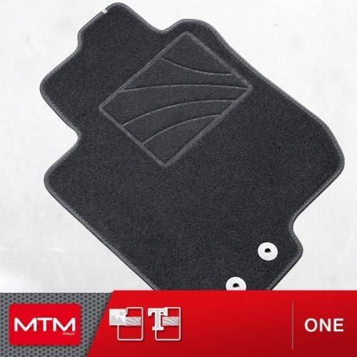 MDM Fu/ßmatten Corolla cod ab 01.2000-12.2006 Passform wie Original aus Velours One 3503 Automatten mit Absatzschoner aus Textile E12 Rand rutschhemmender