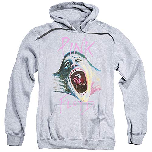 Pink Floyd Mouth The Wall Unisex Adult Pull-Over Hoodie for Men and Women, Large