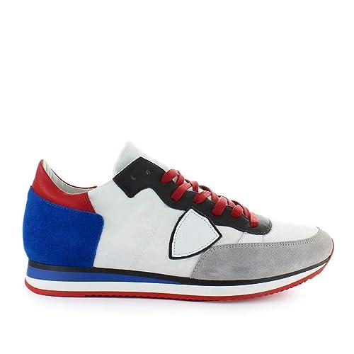 Sneaker Uomo Model Mondial Grigio Philippe Tropez Da Scarpe Blu N8wm0vnyO