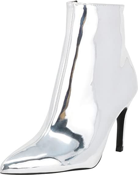 c4c572e69531 Cambridge Select Women s Closed Pointed Toe Stiletto High Heel Ankle Bootie
