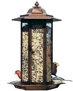 Birdscapes 366 Tall Tulip Garden Lantern Bird Feeder Garden, Lawn, Supply, Maintenance