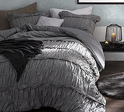 promo code huge selection of 100% genuine Byourbed Torrent Handcrafted Series Twin Comforter - Oversized Twin XL -  Gray