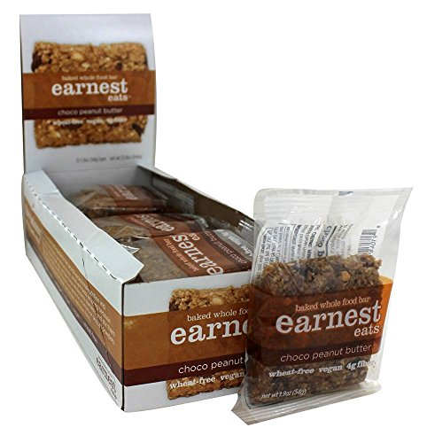 Earnest Eats Baked Whole Food Bar - Choco Peanut Butter 12 / 1.9 oz Bar(S) by Earnest Eats