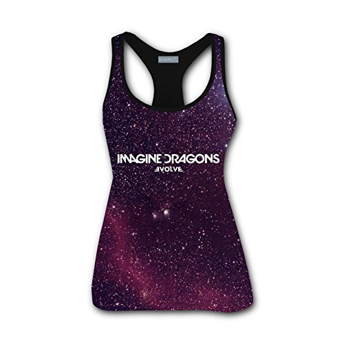 - Imagine Dragons Evolve Tank Top Sleeveless Graphics Tees for Women