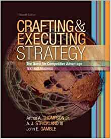 Crafting and executing strategy text and for Crafting and executing strategy cases