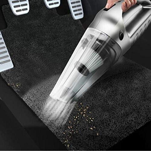 Mini aspirateur Aspirateur de voiture portable rechargeable sans fil Aspirateur de voiture rechargeable USB portable sans fil
