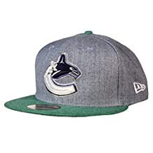 Vancouver Canucks Heather Action 59FIFTY Fitted Cap