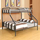 ACME Furniture 37605 2 Count Caius Bunk Bed, Twin X-Large/Queen, Gunmetal