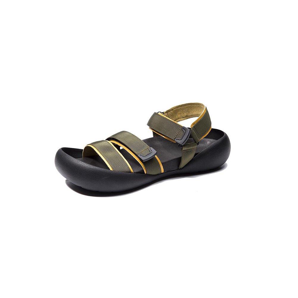 XUEQIN Herren (Farbe Sport Sandalen, Strandschuhe, Stiefelschuhe (Farbe Herren : Blau, größe : EU39/UK6.5/CN40) Grün acb5dd