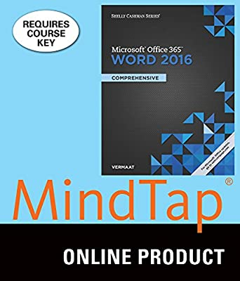 MindTap Computing for Vermaat's Shelly Cashman Series Microsoft Office 365 & Word 2016: Comprehensive, 1st Edition