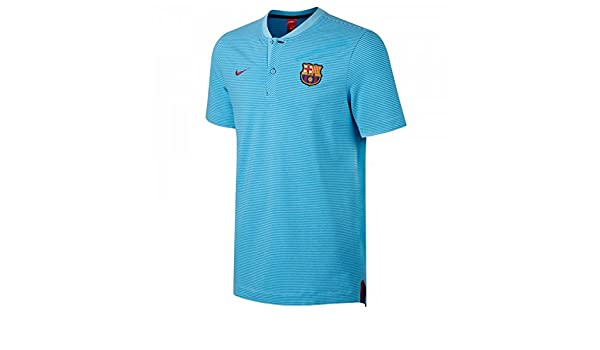 pretty nice fb8cd e58ec Amazon.com : Nike 2017-2018 Barcelona Authentic Polo ...
