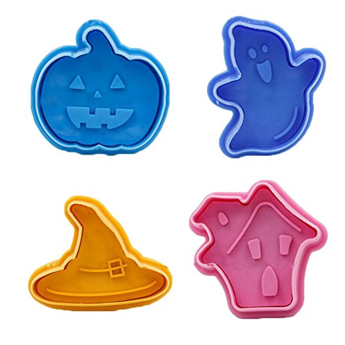 East Majik Cute Molds Cake Decorating Cookie Biscuit Cutter 4 PCS -
