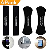 Sticky Gel Pads, CloudValley Nano Rubber Pads, Sticky Cell Pads, Sticky Phone Holder for Car, Car Mount Anti-Slip Stick to Anywhere [4 Pack]