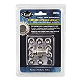 Mr. Gasket 2230G Headlock Locking Header Bolt, (Set of 12)