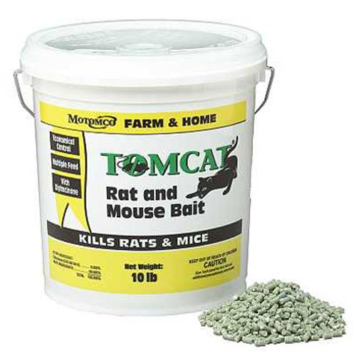 Best Rat Poison - MOTOMCO 008-32345 Tomcat Rat And Mouse Bait Pellet, 10 lb