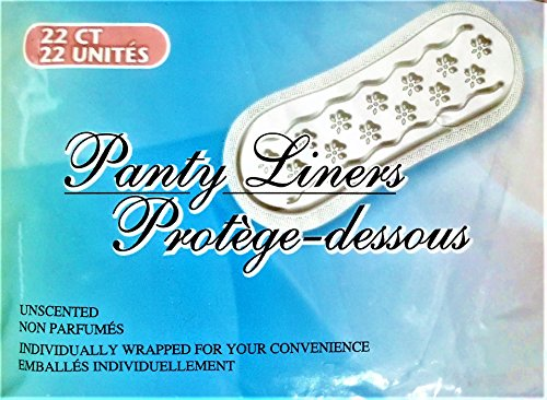 Price comparison product image Panty Liners (Protoge-Dessous) - Package of 22 Count