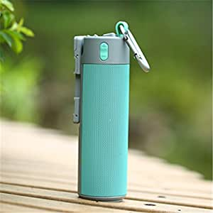 hot sale Multi-function Selfie mobile phone holder Bluetooth speaker with mobile power Bluetooth audio (blue)
