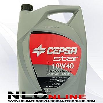 CEPSA Aceite semisintético 511983073 Star Synthetic 10 W40 para ...