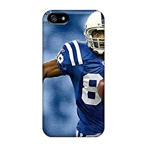 Protector Hard Phone Cover For Iphone 5/5s With Provide Private Custom High-definition Indianapolis Colts Skin JasonPelletier