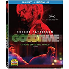 GOOD TIME debuts on Blu-ray (plus Digital HD) and DVD November 21 from Lionsgate