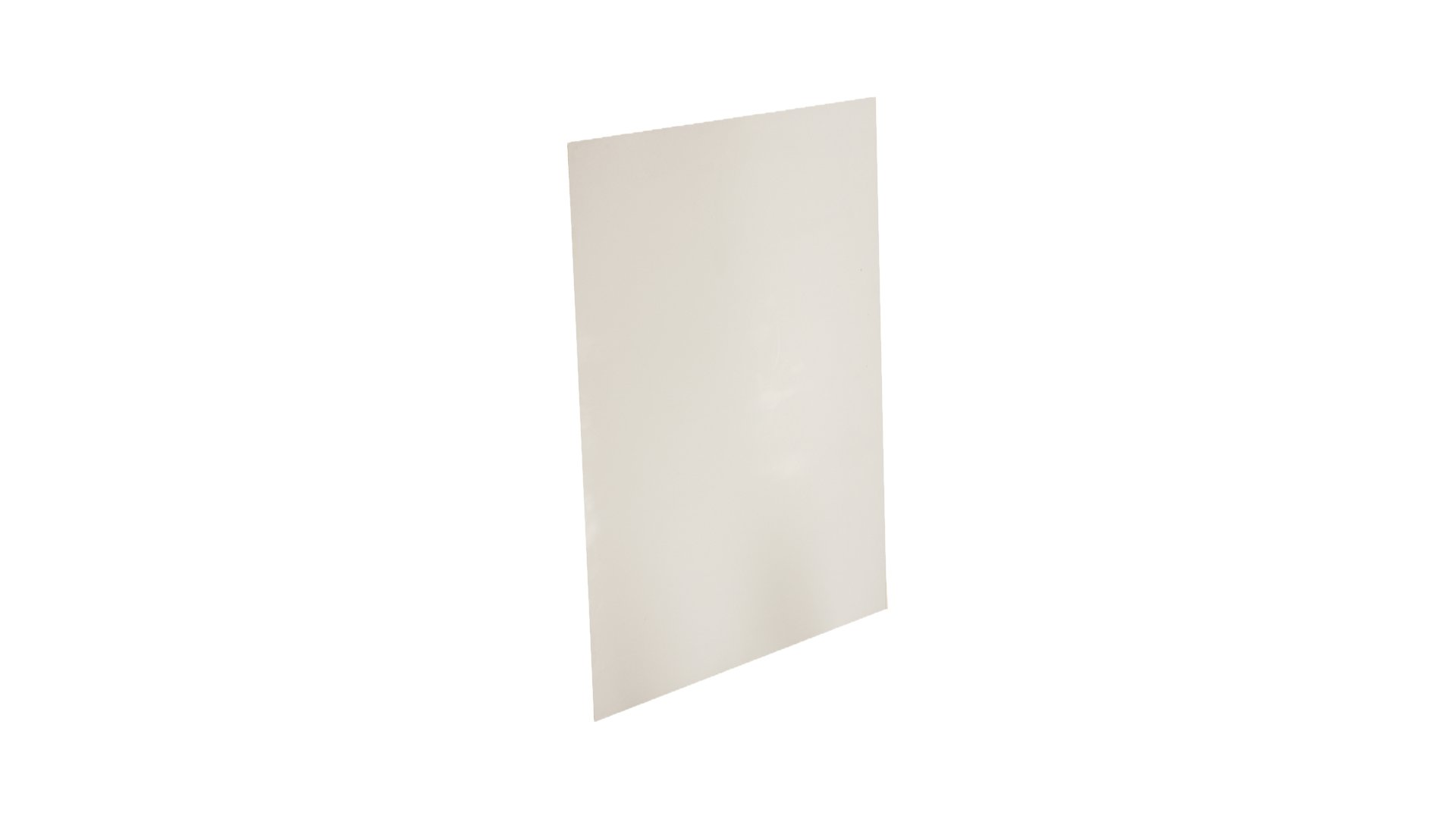Sterling Seal & Supply Expanded PTFE Sheet, 1 mm Thick, 12'' x 6'', White (1 sheet)