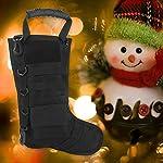 Tbest Chaussettes de Cadeau de Noël de Sac Tactique de Bas de Noël, Sac de Rangement en Nylon d'accessoires Militaires… 12