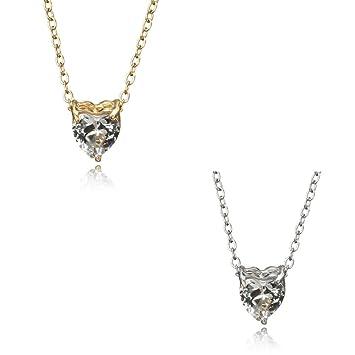 59bc1e1100f8 PAOLIAN Collares para mujer baratos Simple brillante Collares Colgante de  Diseño de en forma de corazón y Circonita collares para mujeres pegados al  cuello ...