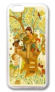 Apple Iphone 6 Case,WENJORS Awesome Our House In the Woods Soft Case Protective Shell Cell Phone Cover For Apple Iphone 6 (4.7 Inch) - TPU Transparent