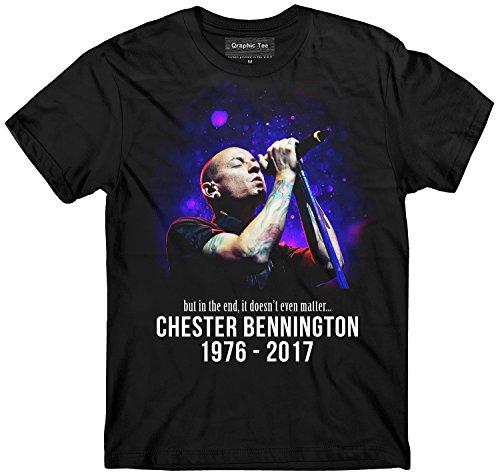 Chester Bennington t-shirt, Memorial t-shirt, RIP t-shirt, Linkin Park t-shirt (xl)