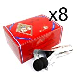 8 - Box of 100pcs Three King Charcoal Premium Hookah Hokah incense charcoal coals- TOTAL 800pcs