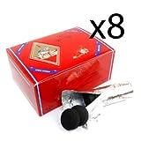 8 - Box of 100pcs Three King Charcoal Premium Hookah Hokah incense charcoal coals- TOTAL 800pcs