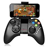Letton Bluetooth Wireless Gamepad with Phone Clip Classic Android Game Controller Joypad Supports for PC iPad iPhone Samsung Android iOS