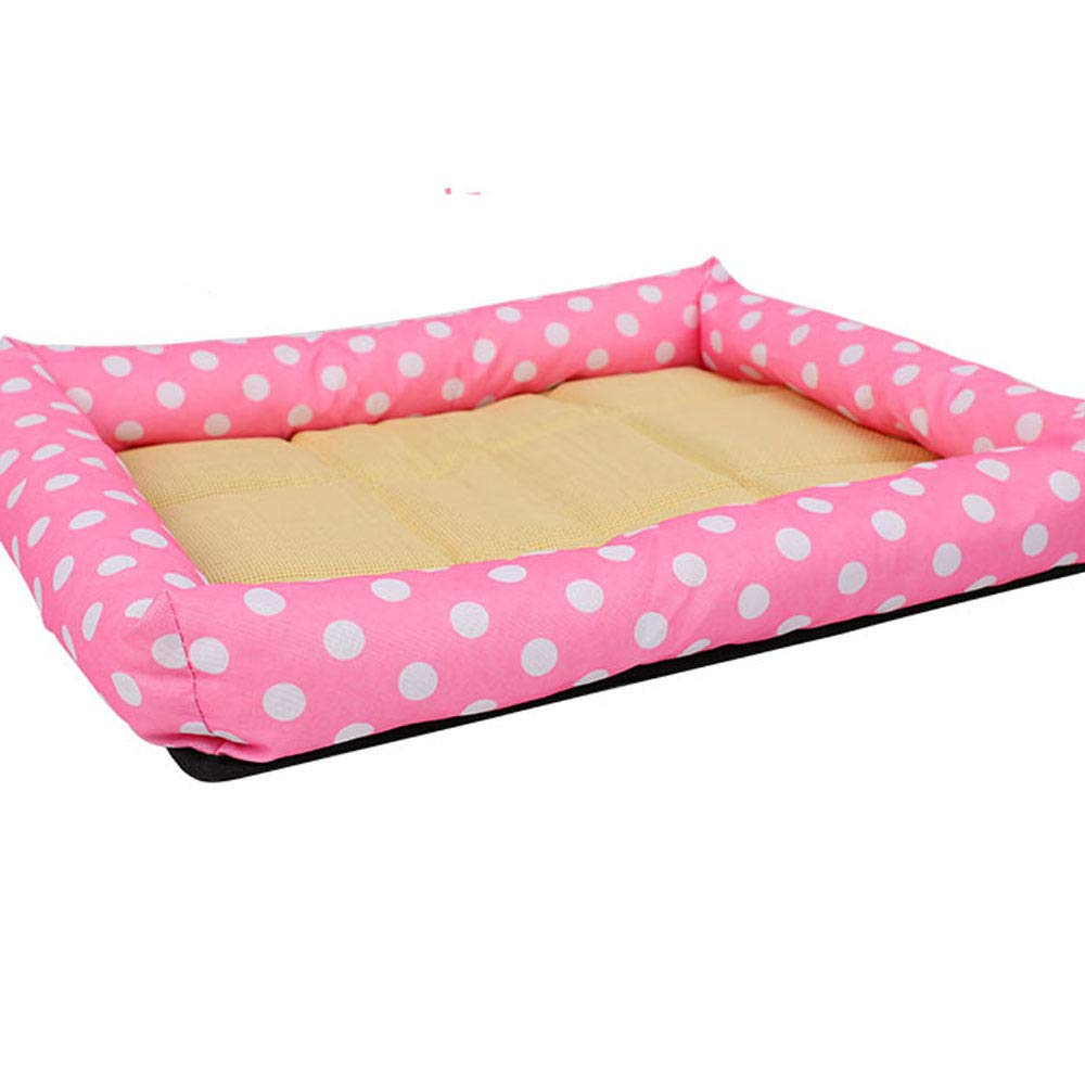 C ZRZJBX Pet Selfcold Mat Sleeping Pad Cushion,Dog MoistureProof Rest Blanket Can Be Placed Anywhere Four seasons available,B