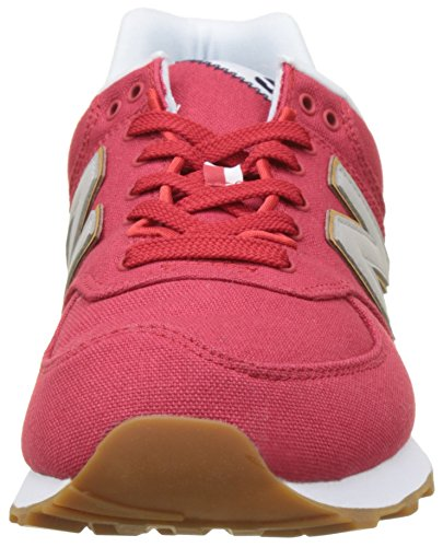 New Balance Ml574v2 Yatch Pack, Sneaker Uomo Rosso (Red)