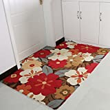 Door mat Modern door mats Bathroom door absorbent mats Bay window mat Indoor area rugs Bedside Washable Simple Nordic Floor Rectangle-D 117x167cm(46x66inch)