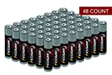 Impecca AAA Batteries, Platinum Alkaline, AAA High Performance, 10 Year Long Lasting, 48 Count, LR3.