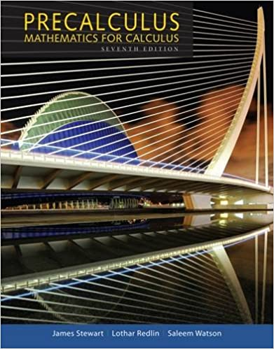 Precalculus: Mathematics for Calculus (Standalone Book): James ...