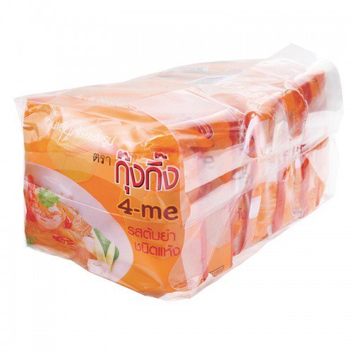 KungKing Instant vermicelli Flavor TomYum Dry 45 g. Pack 6 (Homemade Chicken Costume Hat)