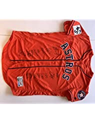 Houston Astros 2017 World Series Champion Team Autographed Jersey. Signed at paid private Autograph Sessions. BAS COA.