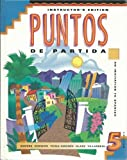 img - for Puntos De Partida: Instructor's Edition by Marty Knorre (1997-01-30) book / textbook / text book