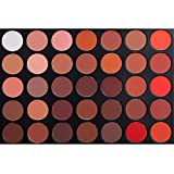 warm color palette MISKOS 35 Colors Eyeshadow Palette, All Matte Warm Pigmented 35OM Makeup Eye shadow Palettes Natural Makeup Set