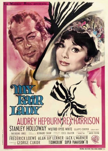 My Fair Lady POSTER Movie (27 x 40 Inches - 69cm x 102cm) (1964) (Italian Style E) ()