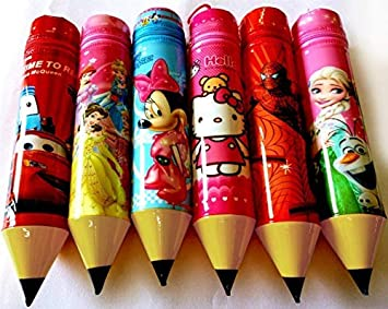 Kieana Birthday Return Gifts For Kids Pen Pencil Pouch Pack Of 6