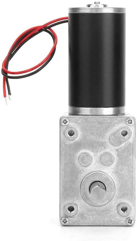 High Torsion Speed Reduce Electric Gearbox Motor Reversible Worm Gear Motor 8mm Shaft 12V Speeds Reduction Motor CHUNSHENN Motors 10RPM