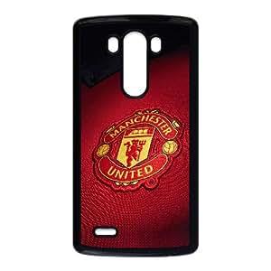Ac14 Mancester United Logo Sports Lg G3 Cell Phone Case Black GYK46876