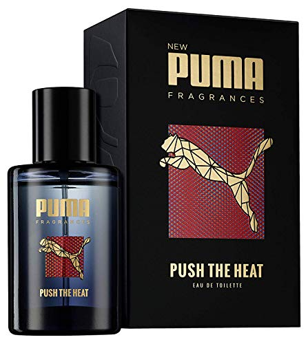 Puma Eau de Toilette Natural Spray Vaporisateur Push The Heat , 50 ml