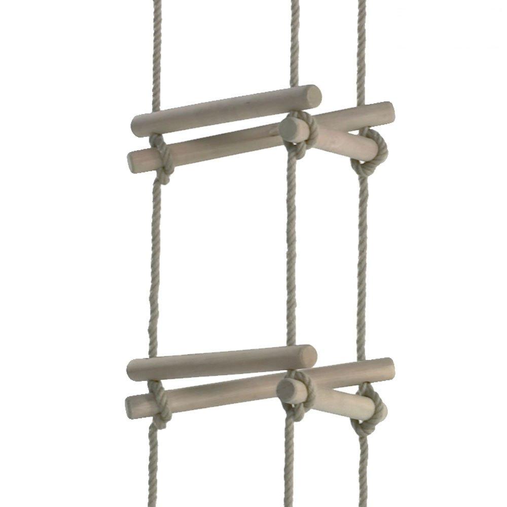 WICKEY Strickleiter 3 Seiten XXL 5 Stufen Kletterleiter