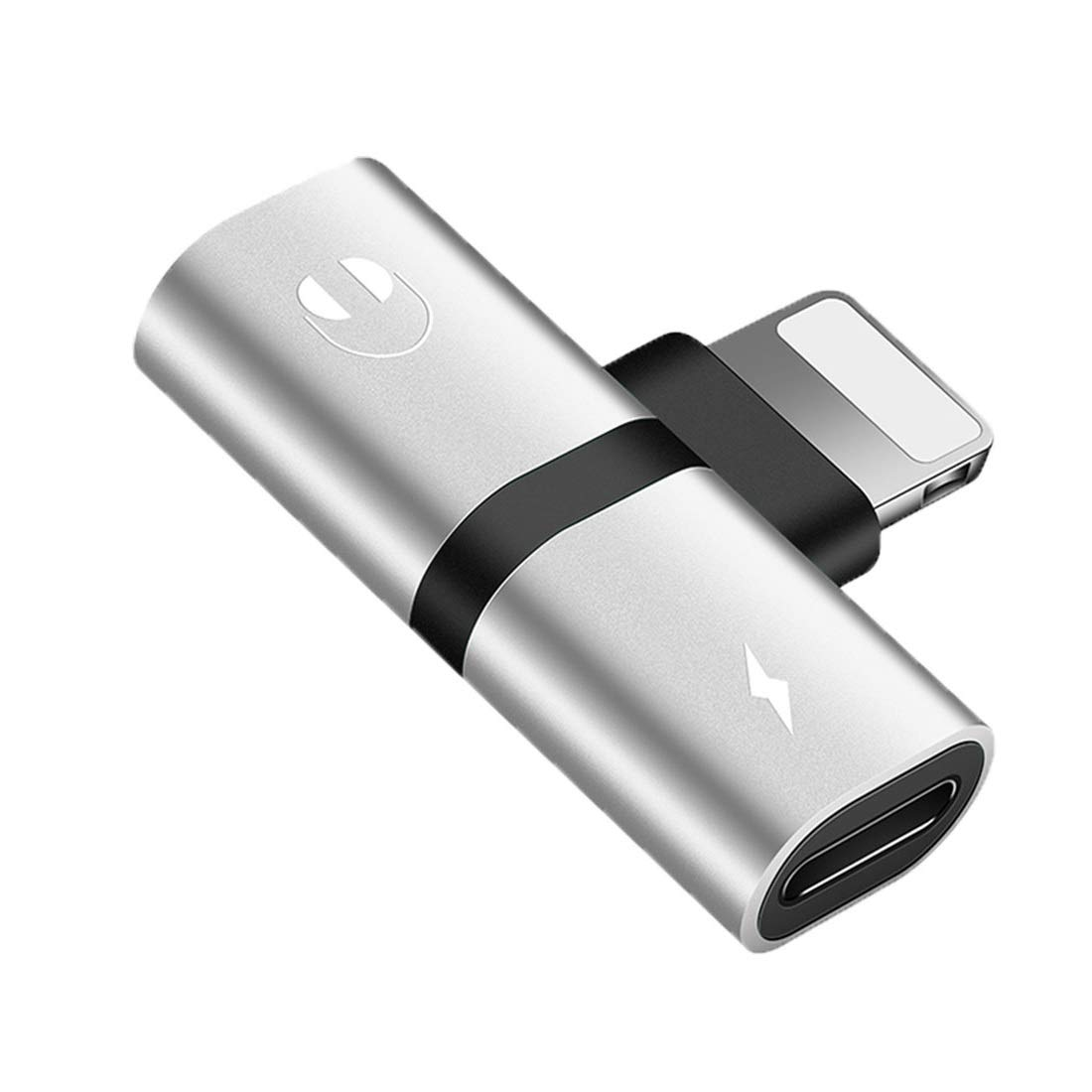 Headphone Adapter for iPhone Aux Adapter Audio and Charging Adapter Splitter Converter for iPhone XR XS XS Max X iPhone 8//8 Plus iPhone 7//7 Plus iPod iPad iOS 11,12